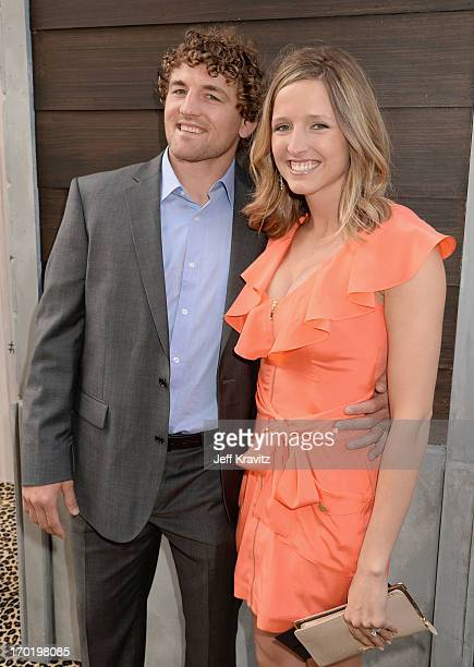MMA fighter/olympic wrester Ben Askren and Amy Askren attend Spike TV's Guys Choice 2013 at Sony Pictures Studios on June 8 2013 in Culver City...