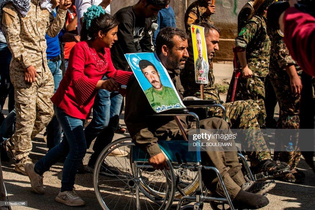 SYRIA-KURDS-CONFLICT-DEMO : News Photo