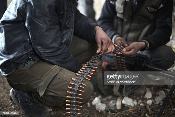 Fighters from rebel factions and Jaish alIslam the foremost rebel group in Damascus province who fiercely oppose to both the regime and the Islamic...