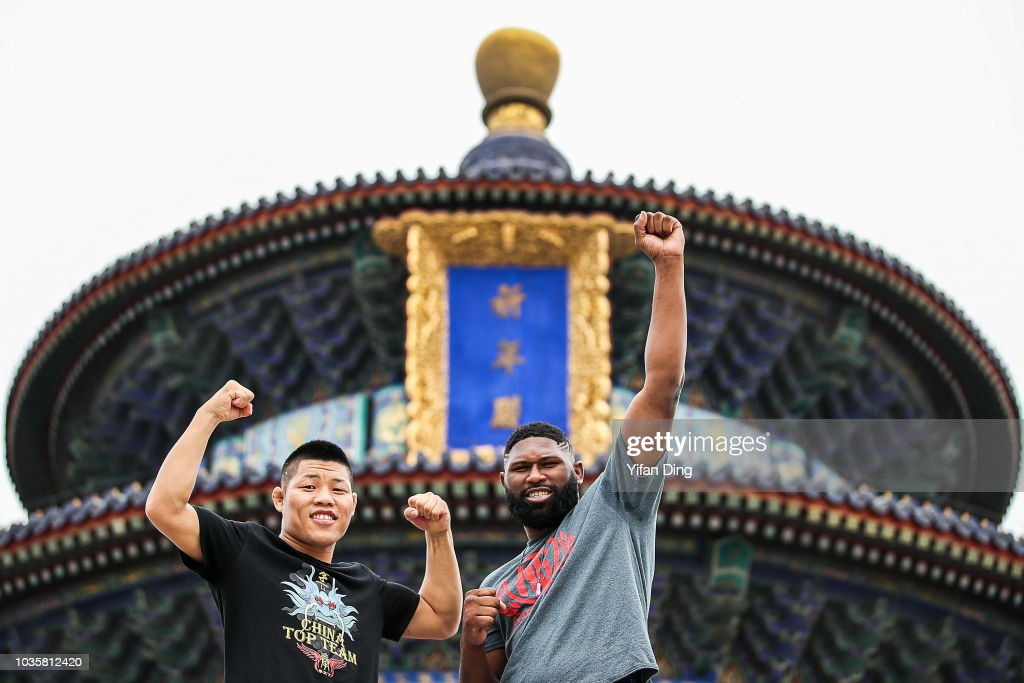 UFC Fight Night Beijing On-Sale Press Conference And Athlete Tour