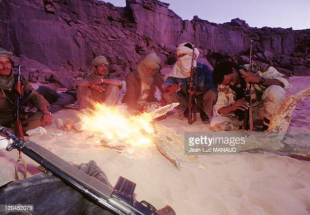 Fighters of FLAA Touareg guerilla in Niger