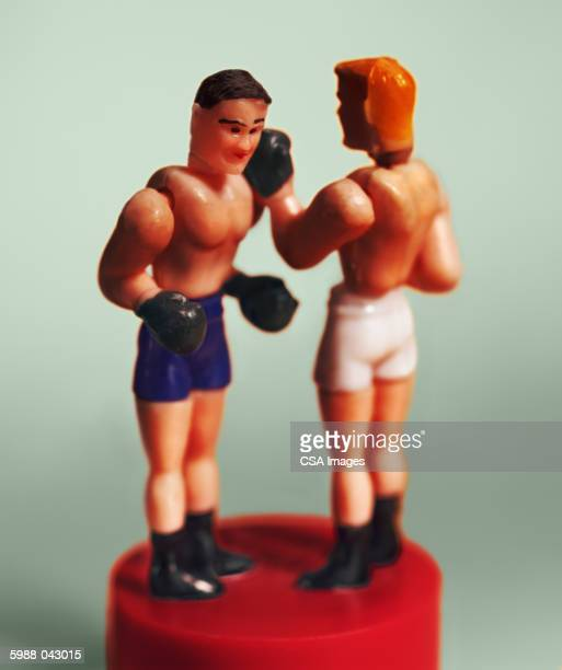 Fighting Boxers Toy