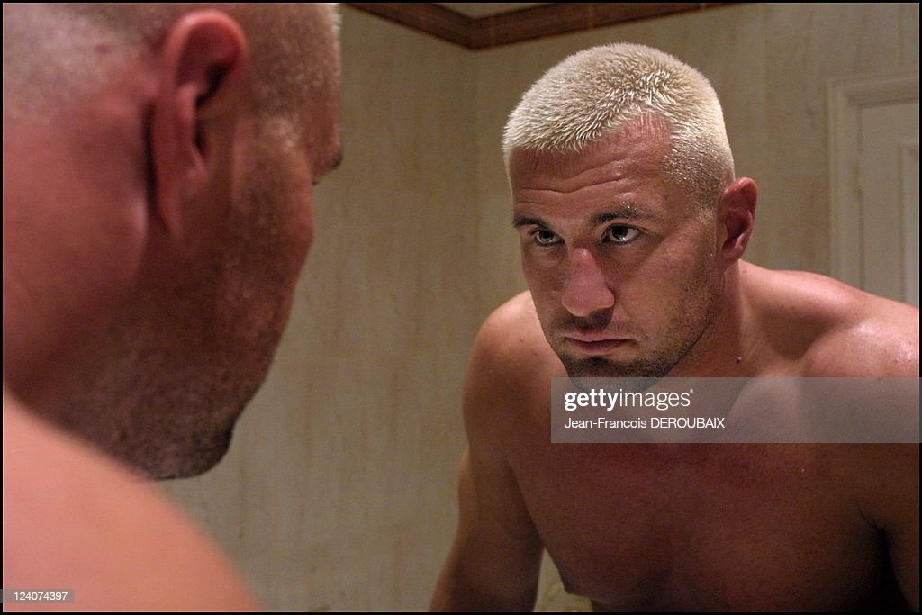 K1 Fighting Champ Jerome Le Banner Will Take Part In The K1 World Grand Prix 2003 In Bercy, On June 14 In Paris, France On June 07, 2003. : News Photo