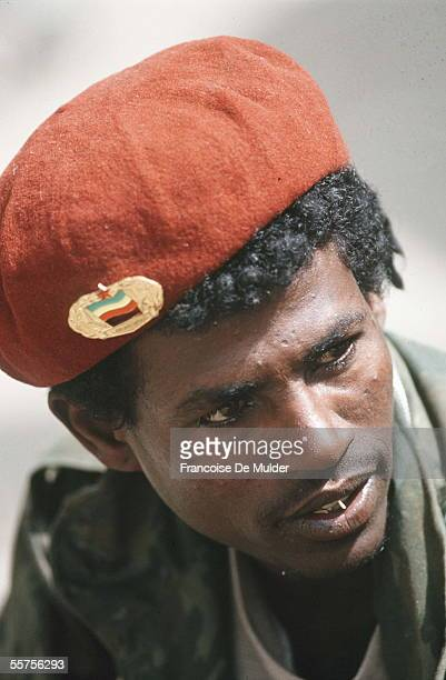 Fighting FDRPE revolutionary democratic Forehead of the Ethiopian people Addis Ababa in May 1991 FDM2555