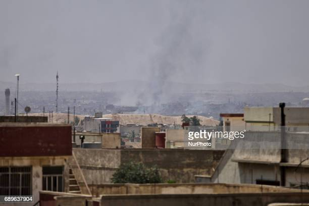 Fighting in Mosul intensifies as Islamic State is pushed further and further back Fighting can be seen around the Great Mosque of alNuri from where...
