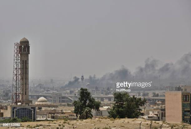 Fighting in Mosul intensifies as Islamic State is pushed further and further back Still under control of IS is the Great Mosque of alNuri with its...