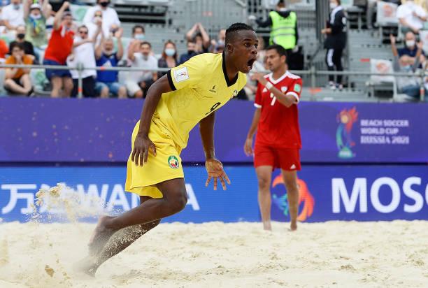 RUS: Mozambique v United Arab Emirates - FIFA Beach Soccer World Cup 2021