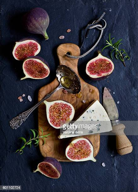 Figs and blue cheese