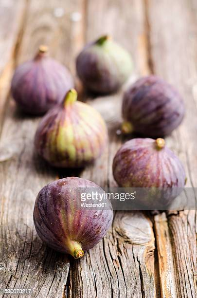 Figs on a wooden table