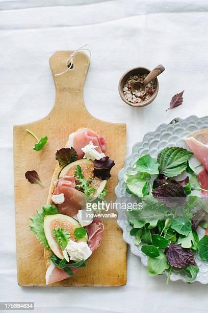 Figs & Prosciutto Sandwich