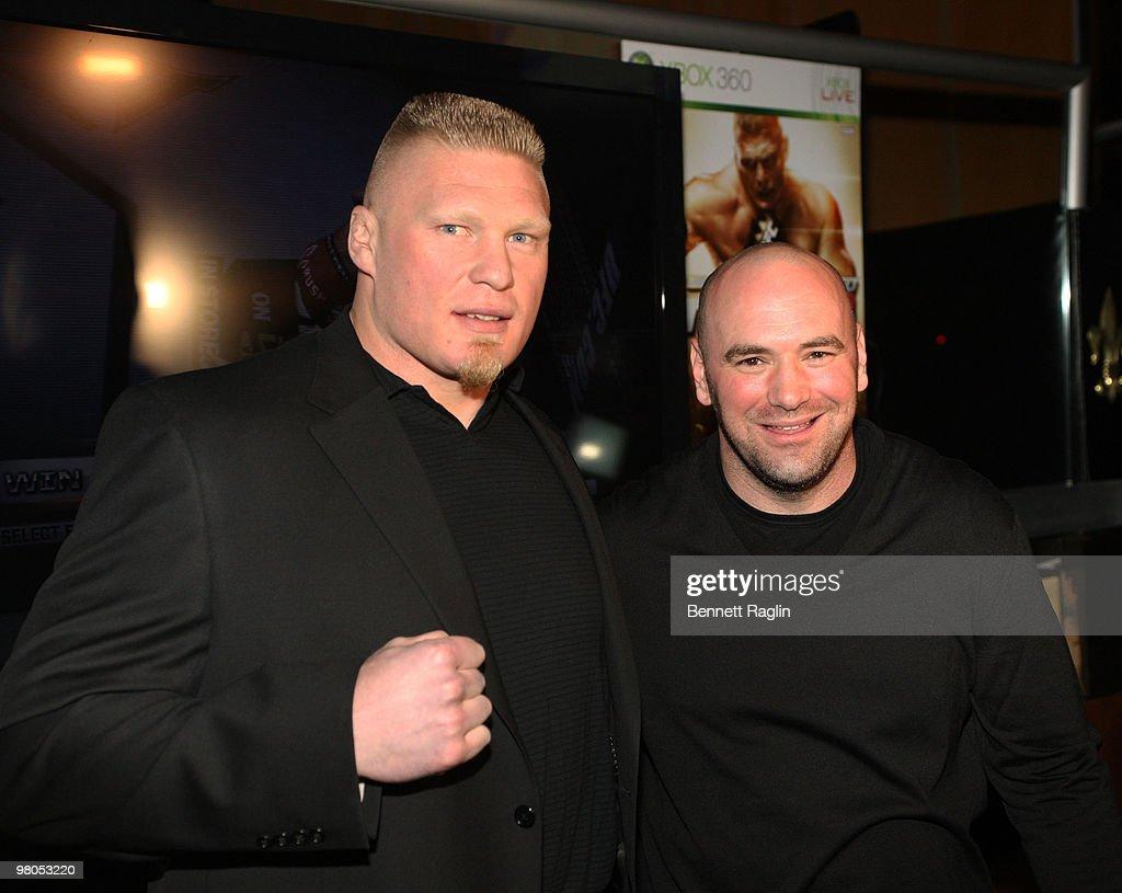 """""""UFC Undisputed 2010"""" New York Premiere : Nachrichtenfoto"""
