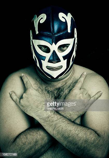 Mexikanisches Wrestling figther