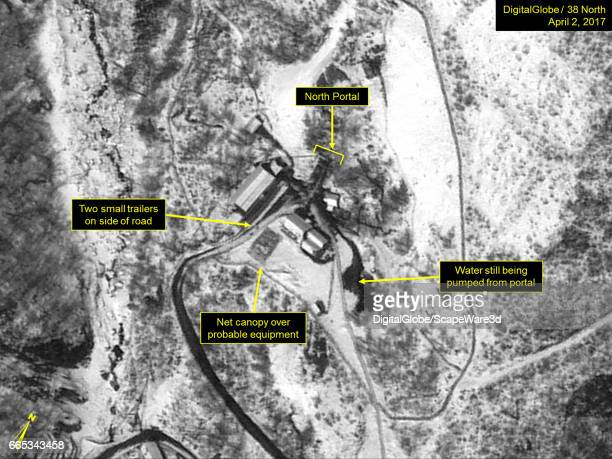 KOREA APRIL 2 2017 Figure 1 Activity continues at the North Portal