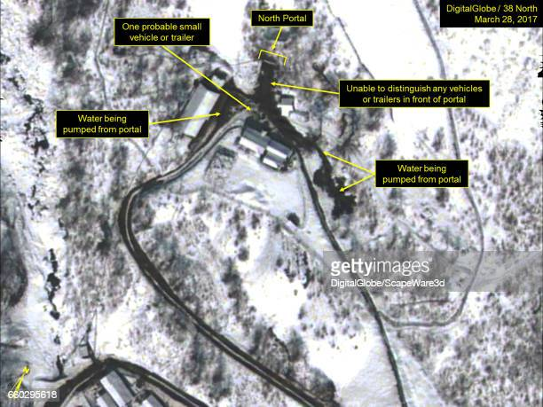 KOREA MARCH 28 2017 Figure 1 Continued activity at the North Portal