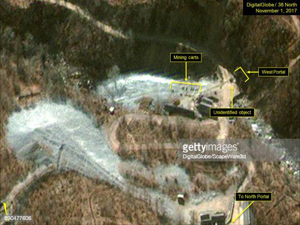 KOREA NOVEMBER 1 2017 Figure 1 High level of activity observed at the West Portal