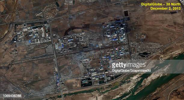 Figure 1 Namhung Industrial Area in 2013 Credit DigitalGlobe/38 North via Getty Images