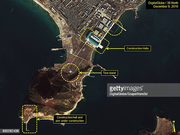 Figure 1 Overview of the Sinpo South Shipyard Date December 9 2016 Mandatory credit for all images DigitalGlobe/38 North via Getty Images