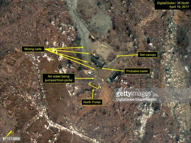 KOREA APRIL 19 2017 Figure 1 Probable trailers observed near the North Portal