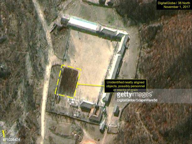 KOREA NOVEMBER 1 2017 Figure 10 Neatly aligned objects or personnel present at the Southern Support Area