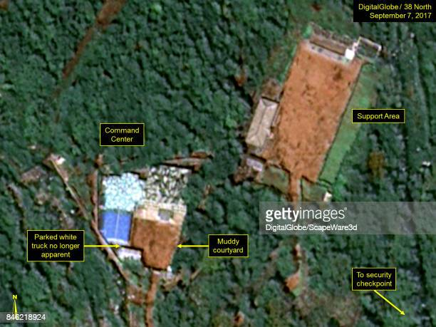 KOREA SEPTEMBER 7 2017 Figure 10 White truck no longer present in imagery from September 7