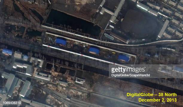 Figure 11 Namhung Youth Chemical Complex Northern Section new secure storage area Credit DigitalGlobe/38 North via Getty Images