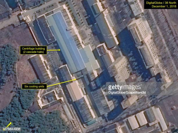 Figure 1A The Uranium Enrichment Plant continues to show evidence of ongoing operations Credit DigitalGlobe/38 North via Getty Images