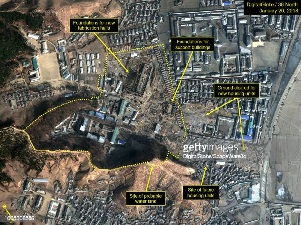 Figure 1B Expansion of the Chemical Materials Institute from July 2017July 2018 Mandatory credit for all images DigitalGlobe/38 North via Getty Images