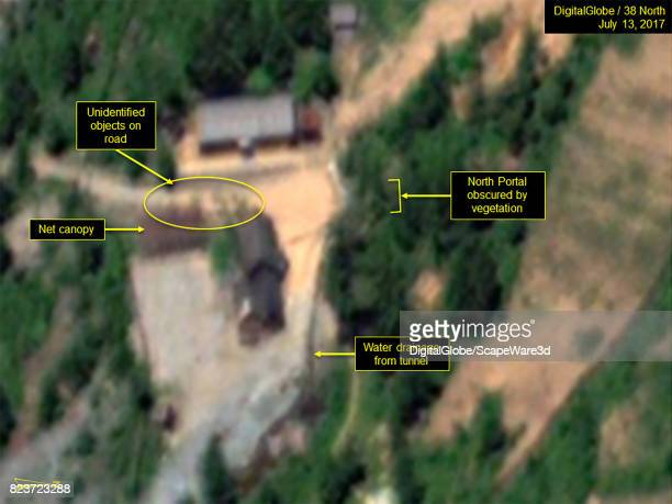 KOREA JULY 13 2017 Figure 1b Objects appear near the North Portal between July 11 and July 13