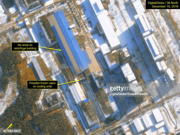 Figure 1B The Uranium Enrichment Plant continues to show evidence of ongoing operations Credit DigitalGlobe/38 North via Getty Images