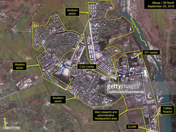 Figure 1C. Timeline of Yongbyon City expansion. Credit: Maxar/38 North via Getty Images