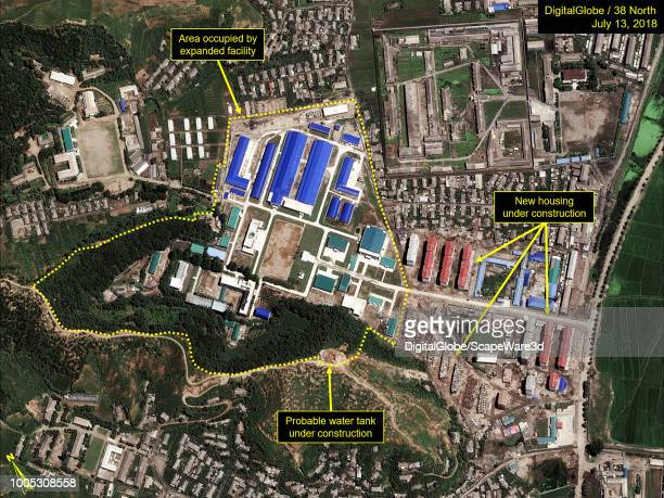 Figure 1D Expansion of the Chemical Materials Institute from July 2017July 2018 Mandatory credit for all images DigitalGlobe/38 North via Getty Images