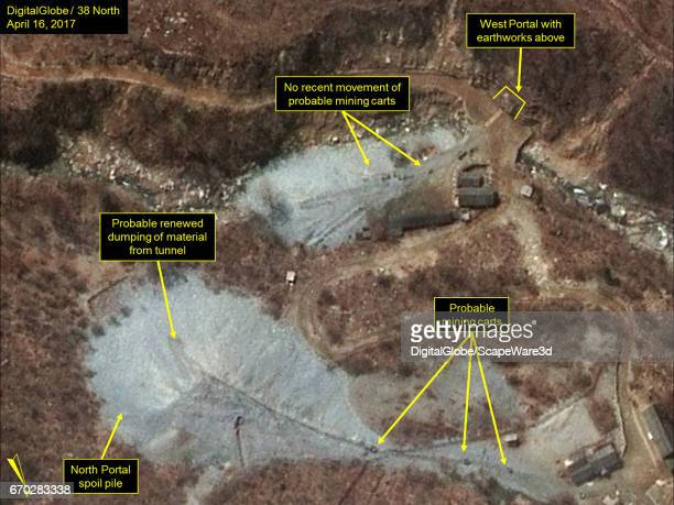 KOREA APRIL 16 2017 Figure 2 Recent dumping seen on the North Portals spoil pile
