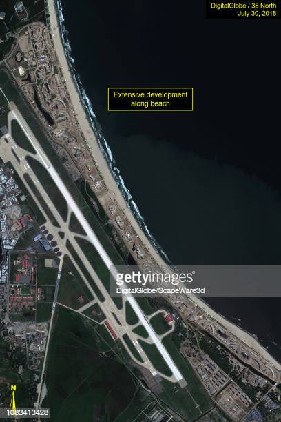 Figure 2B Significant progress made to develop a massive beachfront resort in just over a year Credit DigitalGlobe/38 North via Getty Images