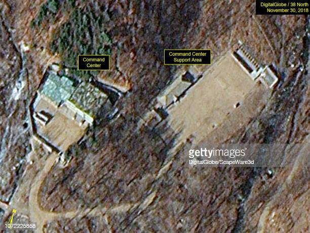 KOREA NOVEMBER 30 2018 Figure 2B The Command Center remains intact