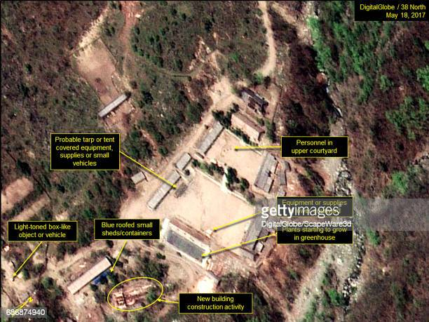KOREA MAY 18 2017 Figure 3 Personnel and new equipment/supplies observed in the Main Administrative Area new construction and activity just south of...