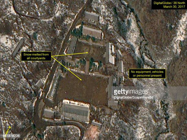 KOREA MARCH 30 2017 Figure 3 Small collection of crates or trailers seen in previous imagery has been removed