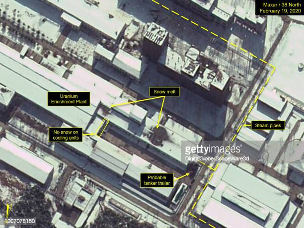 Figure 3 Visible snow melt on buildings around the Uranium Enrichment Plant on February 19 2020 Credit Maxar/38 North via Getty Images