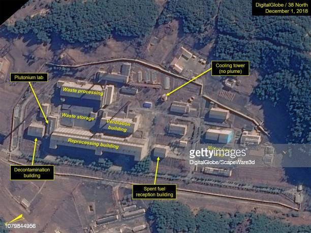 Figure 3A No observable activity at the Radiochemical Laboratory Credit DigitalGlobe/38 North via Getty Images
