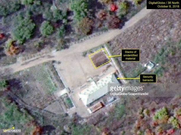 KOREA OCTOBER 8 2018 Figure 3A Unidentified material removed but a small shed erected