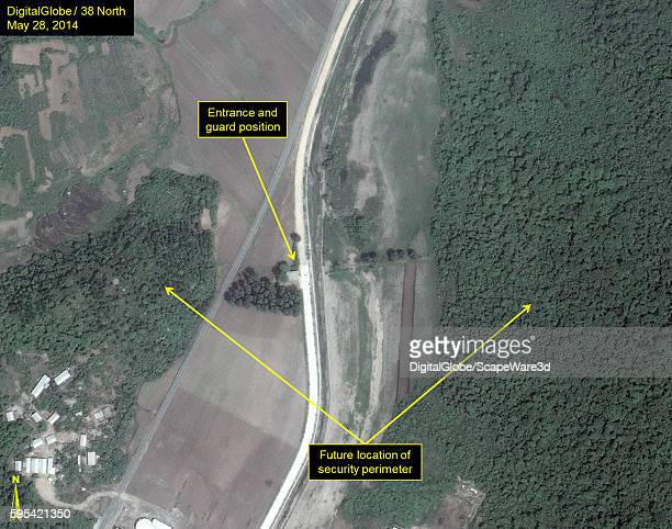 Figure 3A Upgraded Security at North Koreas Sohae Satellite Launching Station published on 38 North on August 25 2016 Upgrades to inner security...