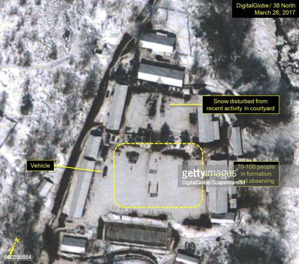 KOREA MARCH 28 2017 Figure 3B Formations seen in the Main Administrative Area similar to what was seen in lead up to 2013 nuclear test