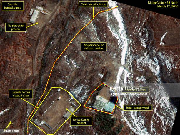 KOREA MARCH 17 2018 Figure 3B No evidence of personnel or vehicles around the Command Center