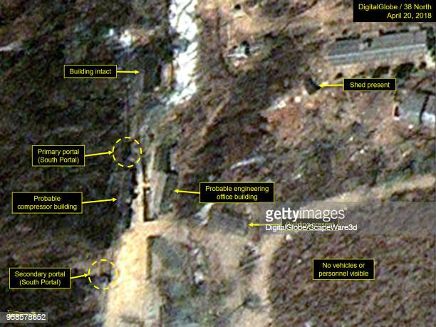 KOREA APRIL 20 2018 Figure 4A Closeup of South Portal shows no vehicles or personnel the portal has never been used