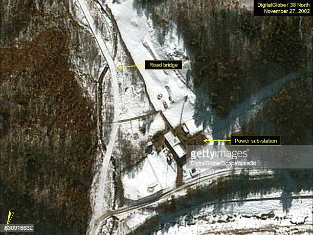 Figure 5 DigitalGlobe imagery of the road bridge and power substation at Pumyongdong on November 27 2002 Mandatory credit for all images...