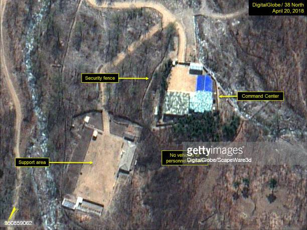 KOREA APRIL 20 2018 Figure 5 No personnel or vehicles observed at the Command Center