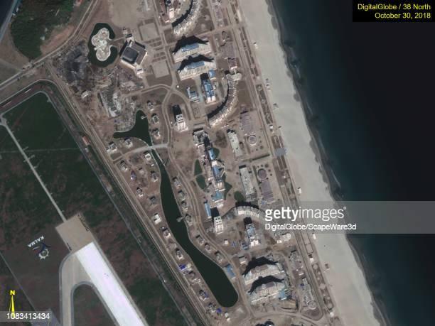 Figure 5A Closeups of progress made after Kim Jong Uns site visit in October Credit DigitalGlobe/38 North via Getty Images