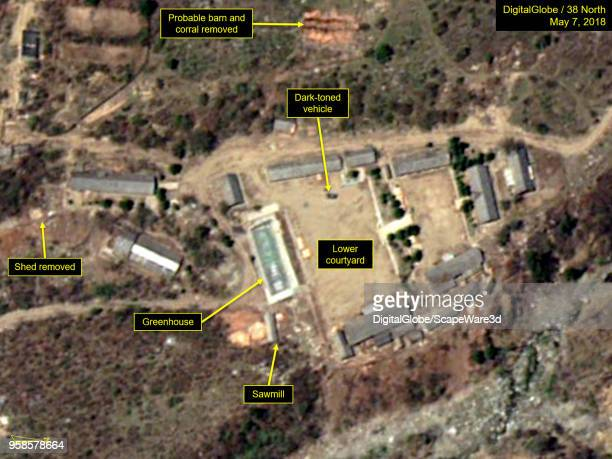 KOREA MAY 7 2018 Figure 5B Support buildings at the Main Administrative Area have been taken down