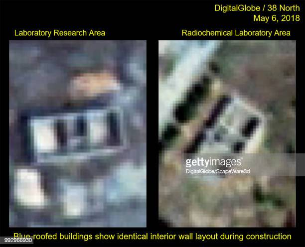Figure 6 Closeup of the buildings Hshaped interior layout Credit DigitalGlobe/38 North via Getty Images