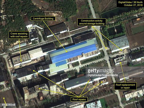 Figure 6A Centrifuge Building and support buildings at the Uranium Enrichment Complex appear to be in operation Date October 27 2016 Mandatory credit...