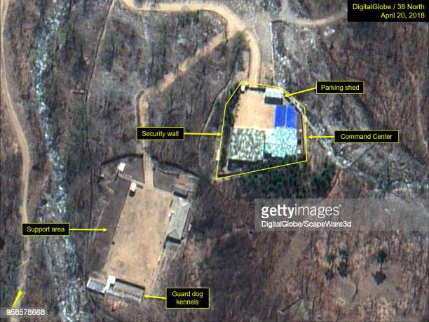 KOREA APRIL 20 2018 Figure 6A Command Center before structures where been taken down